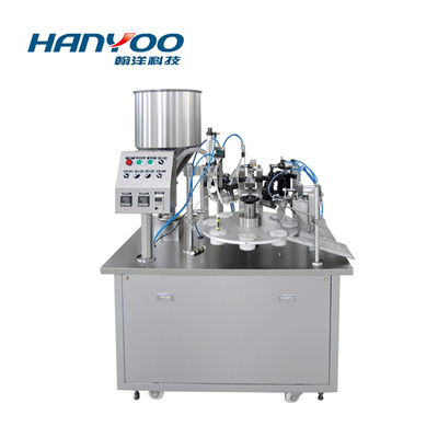 RGF-30 Semi Automatic Tube Filling Sealing Machine