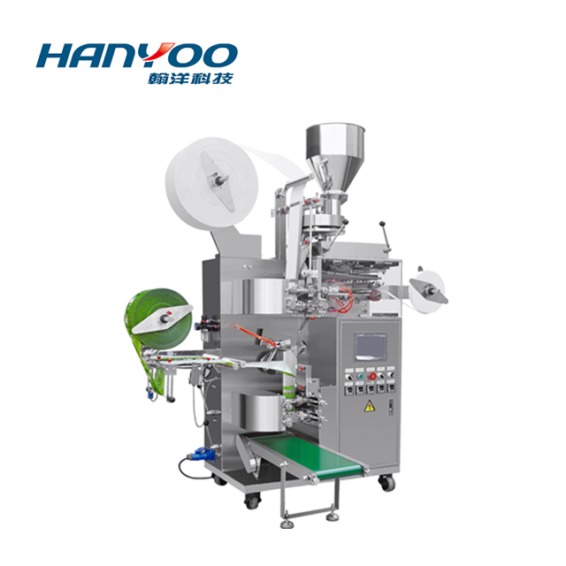 DXD-100Q Automatic Inside & Outside (With Tag) Tea Sachet Packing Machine
